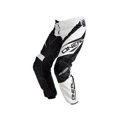 Oneal Mens Element RW MX Pants - Black/White - Size 40