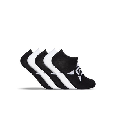 UNIT No Show Black/White Sport Socks (5pkt)