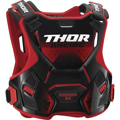 Thor Guardian Youth MX Roost Chest Guard - Red