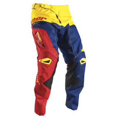Thor MX Pants  Fuse - Navy/Red/Yellow