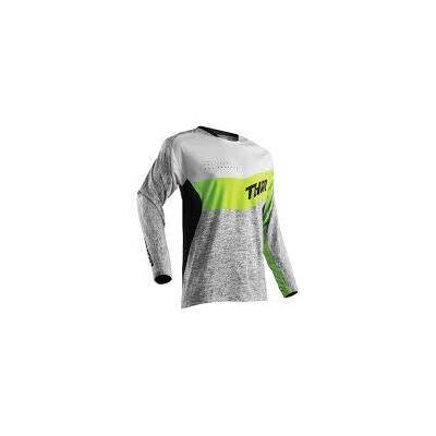 Thor MX Jersey Fuse - Grey/Lime
