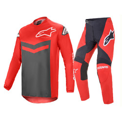 Alpinestars Fluid Speed MX Pants Jersey GEAR SET 2021 - Bright Red