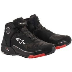 Alpinestars CRX Drystar Waterproof Riding Shoes - Black/Red
