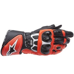 Alpinestars GP Plus R Leather Motorcycle Gloves - Black/Red