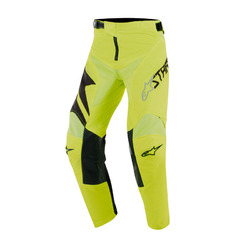 Alpinestars Youth Racer Factory MX Pants - Black Fluro Yellow
