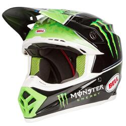 Bell Moto 9 Tomac Replica ECE MX Helmet - Black/Green - XL 60-61cm (HOT BUY)