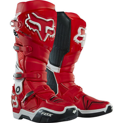Fox Instinct MX Boots - Red
