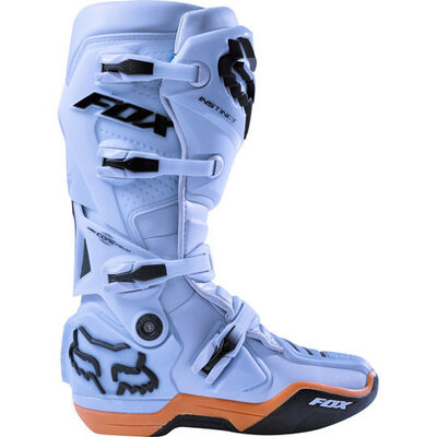 Fox Instinct MX Boots - Light Blue (HOT BUY)