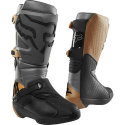 Fox Comp MX Boots - Black/Stone