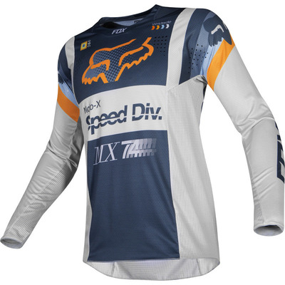 Fox Youth 360 Murc MX Jersey  - Light Grey - XL