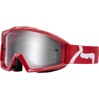 Fox Youth Main Race MX Goggle - Red