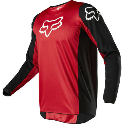 Fox Youth 180 Prix MX Jersey  - Black/Red