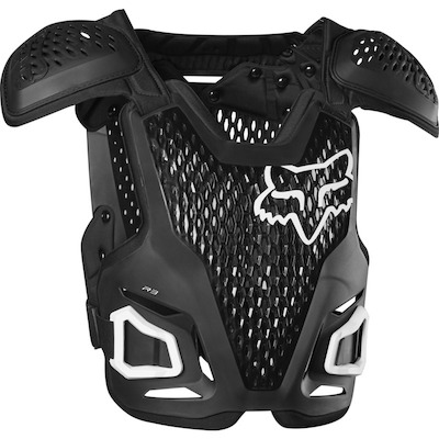 Fox R3 MX Chest Body Protection - Black