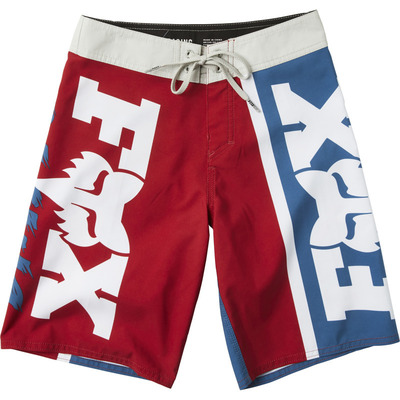 Fox Youth Victory Board Shorts - Blue/Red