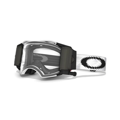 Oakley Airbrake Matte White Race Ready MX Goggle