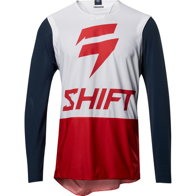 Shift Blu3 4th Kind MX Jersey  - Navy/Red - XL